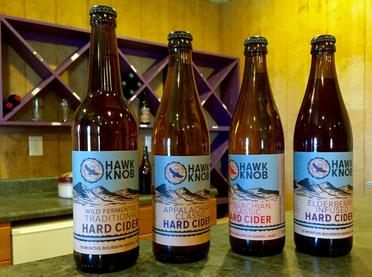 Bottles of Hard Cider Media Article